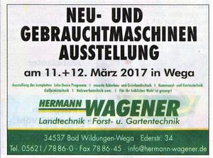 WAGENER-Messe in Wega