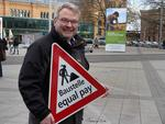 Thomas Hermann beim Equal Pay Day