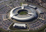 GCHQ-Hauptsitz in Cheltenham, Gloucestershire (UK)
