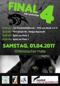 Final 4 der Landesliga mB am 1. April in Fürstenfeldbruck