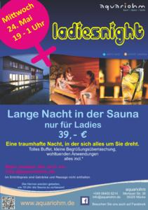 Ladiesnight im aquariohm