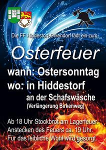Osterfeuer Hiddestorf 2017