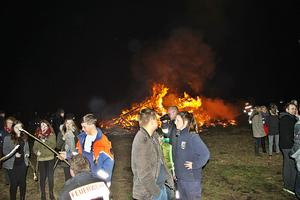 Osterfeuer Ohof 2017