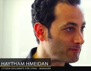 Haytham Hmeidan, Citizen Diplomats for Syria
