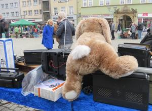 Imposanter Gothaer Trödelmarkt am Samstag, den 08. April 2017