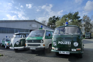 Saisonbeginn im Polizeioldtimer Museum Marburg am 23. April