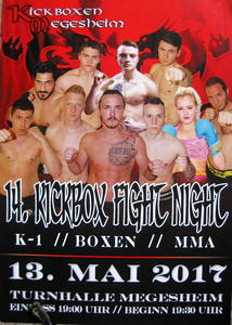 14. KICKBOX FIGHT NIGHT (Kickboxen Megesheim)