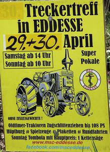 32. Treckertreffen in Eddesse am 29. April 2017