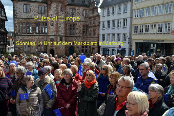 marburg, marktplatz, demonstration, pulse-of-europe