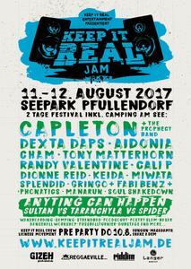 Keep it Real Jam 2017