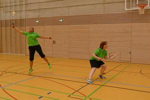 Badminton-Turnier-Debut in Gersthofen