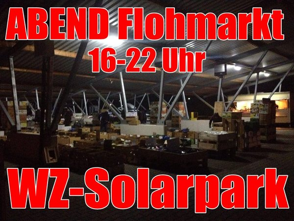 flohmarkt abends solarpark wetzlar wetzlar. Black Bedroom Furniture Sets. Home Design Ideas