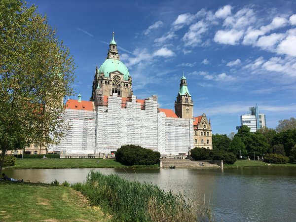 rathaus, hannover-city