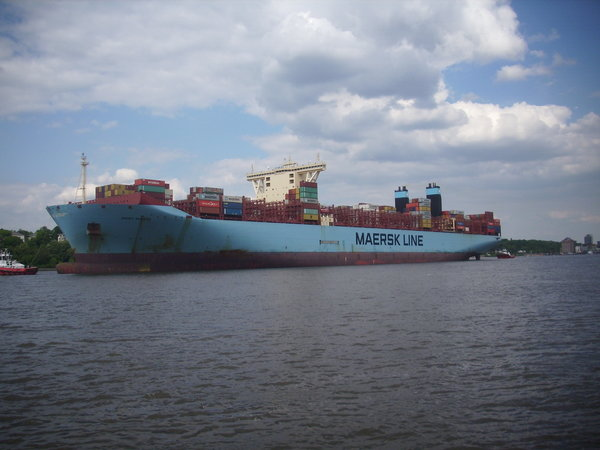 containerschiff, mary-maersk