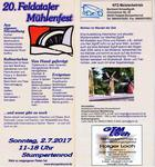20. Mühlenfest in Feldatal- Stumpertenrod
