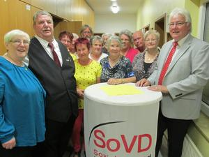 70 Jahre SoVD Ortsverband Letter