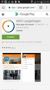 Die Apps gibt's im Google Play Store ( https://play.google.com/store/apps/developer?id=Feine%20Apps.%20RS.Consult&hl=de ) und bei Apple iTunes ( https://itunes.apple.com/de/app/adfc-langenhagen/id1107318405?mt=8 )