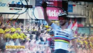 Tour de France, 3. Etappe : Peter Sagan gewinnt 3. Etappe der Tour de France