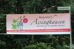 Rosenfest in Assinghausen.