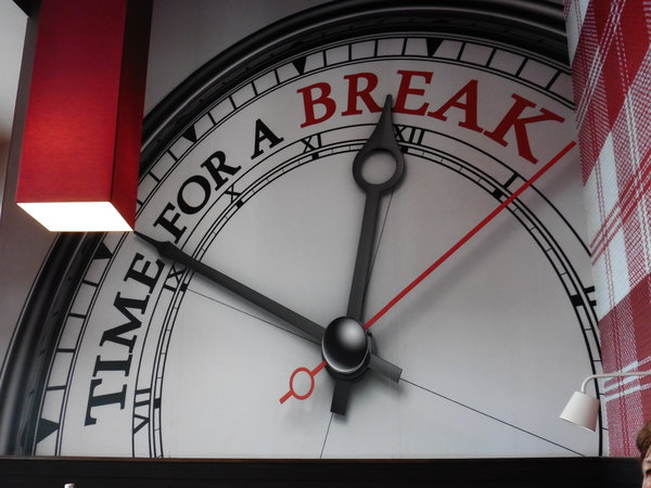 time, break