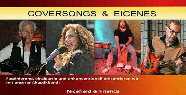 NICEFIELD DUO + NICEFIELD & Friends auf dem Weinfest in Nauheim!