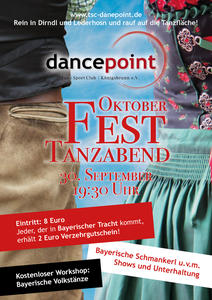 Motto-Tanzparty 'Oktoberfest'
