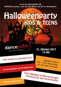 Halloweenparty 2017 für KIDS & TEENS