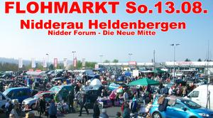 FLOHMARKT in Nidderaau am Nidder Forum