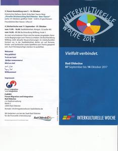 Interkulturelle Woche 2017 in Bad Oldesloe