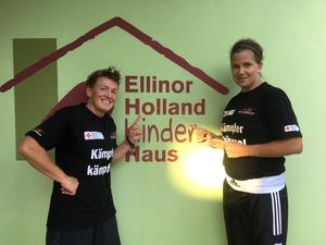 Weltmeister-Training im Ellinor Holland Haus - Kartei der Not