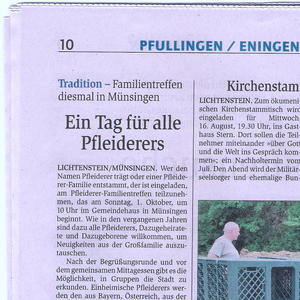 Reutlinger General-Anzeiger, 14. August 2017
