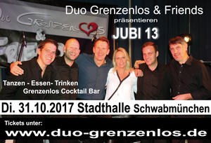 JUBI 13 Duo Grenzenlos & Friends 31.10.2017