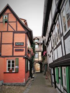 in Quedlinburg.