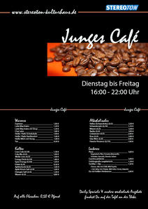 Das Junge Café 'is back in town'