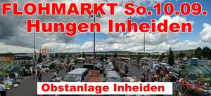 FLOHMARKT in Hungen Inheiden an der Obstanlage