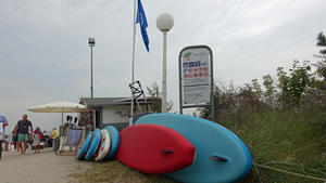 Stand-Up-Paddleboarding in Boltenhagen