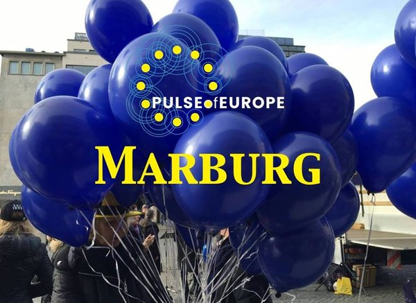 marburg, marktplatz, kundgebung, pulse-of-europe