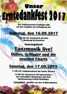 Erntedankfest in Frielingen