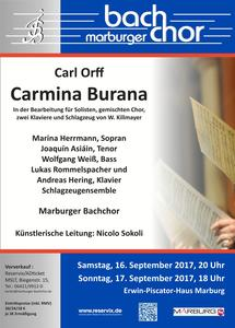 'Carmina Burana' in Marburg
