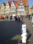 Bremen, Internationaler Friedenstag 2017: Bremer Friedensturm (s. GOOGLE)
