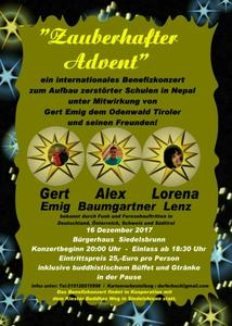 Internationales Benefizkonzert 'Zauberhafter Advent'