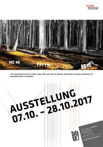 """HOPE, FAITH & LOVE"" Kunstausstellung in Hannover 07.10.2017 – 28.10.2017"