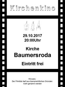 Kirchenkino in Baumersroda