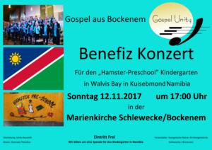 Benefizkonzert in Schlewecke