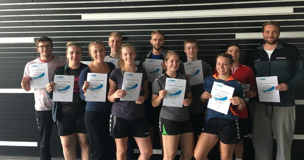 Handball: BHV Kinder- und Jugendzertifikat 2017 in Meitingen