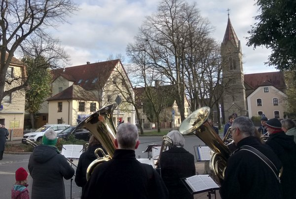 posaunenchor, luther, reformationstag