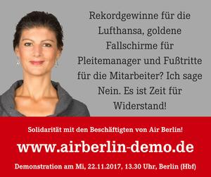 Air-Berlin Demo