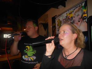 Karaoke Party in der Dampflok in Ichenhausen