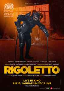 'Rigoletto' Live-Übertragung aus dem Royal Opera House in London