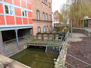 Alte Mühle an der Trave in Bad Oldesloe